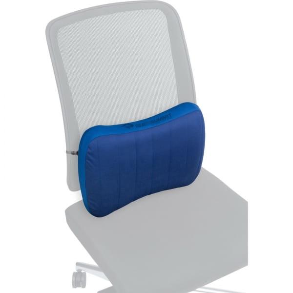 Sea to Summit Aeros Premium Lumbar Support Pillow - Lendenwirbelkissen navy - Bild 5