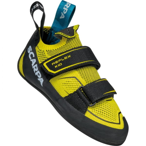Scarpa Reflex Kid - Kinder- & Jugend-Kletterschuh yellow-black - Bild 1