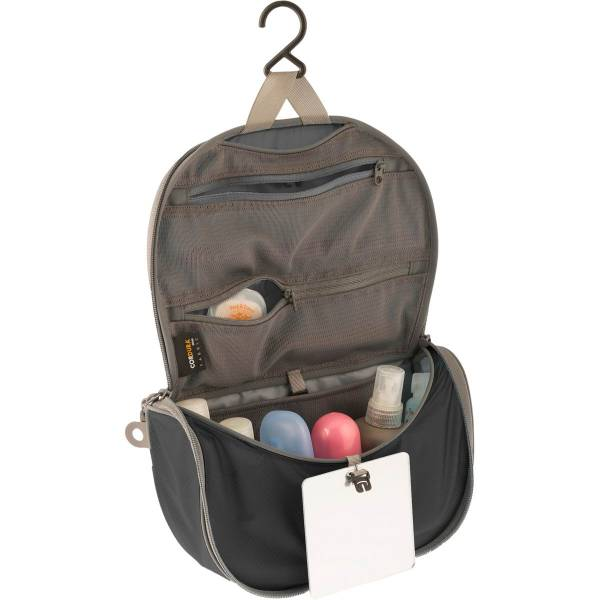 Sea to Summit TravellingLight Hanging Toiletry Bag S black-grey - Bild 2