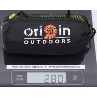 Vorschau: Origin Outdoors Sleeping Liner Mikrofaser grün - Bild 2