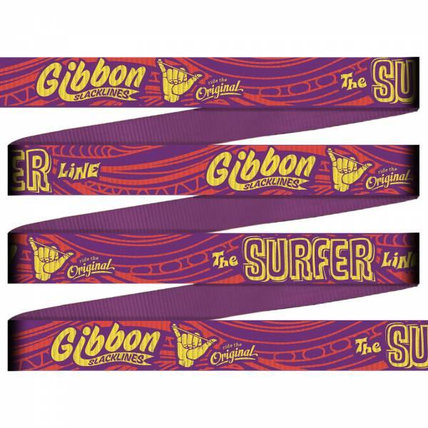 Gibbon Surfer Line - TreeWear Set - Slackline - Bild 4