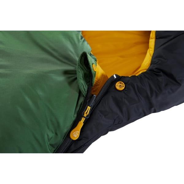 Nordisk Gormsson +10° Curve - Sommerschlafsack artichoke green-mustard yellow-black - Bild 6