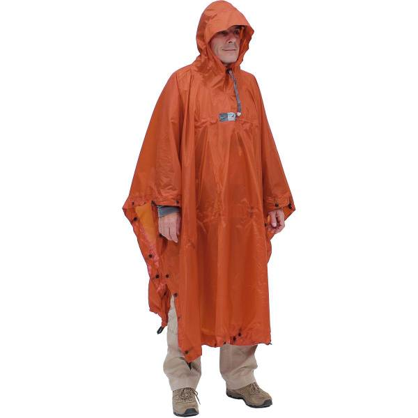 EXPED Bivy Poncho - Rucksackponcho terracotta - Bild 2