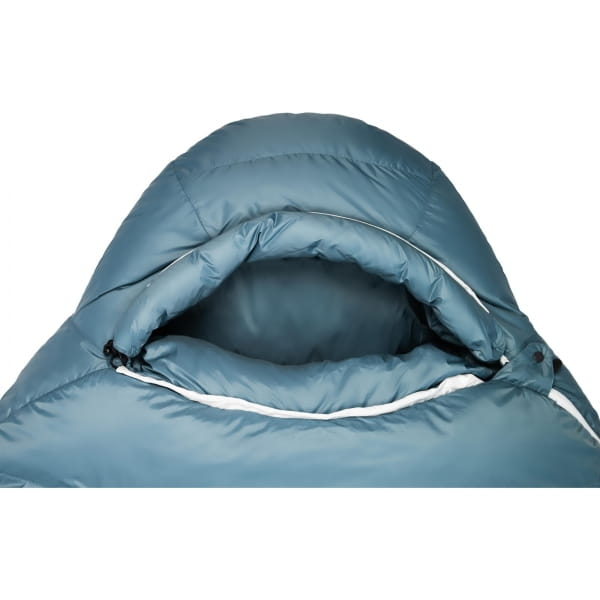 Grüezi Bag Biopod Down Hybrid Ice Cold - Daunen- & Wollschlafsack platin grey - Bild 5