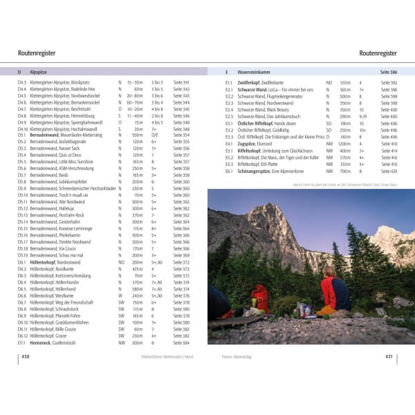 Panico Verlag Wetterstein Nord - Kletterführer Alpin - Bild 14