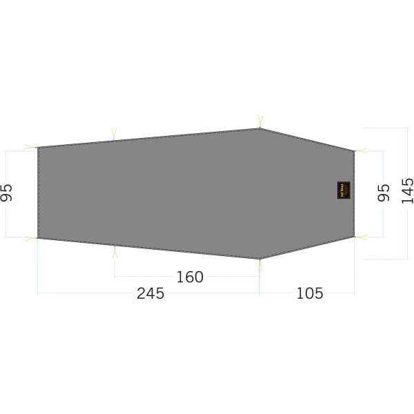 Tatonka Floor Sheet LT Gargia 2 - Zeltunterlage - Bild 1