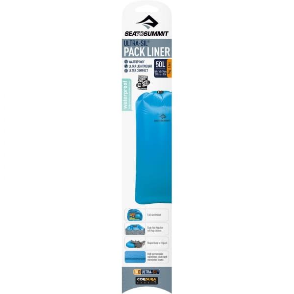 Sea to Summit Ultra-Sil Pack Liner - Trockensack blue - Bild 9