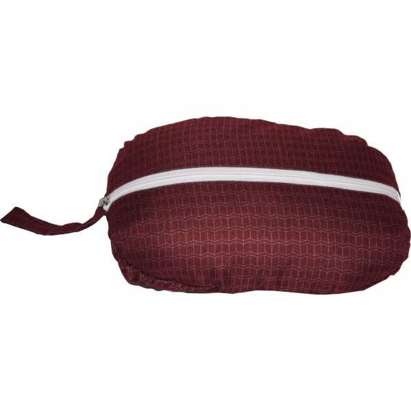 Grüezi Bag Feater - Beheizbares Schlafsack-Inlett darkred - Bild 9