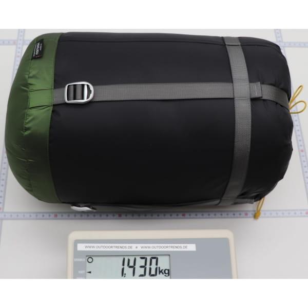 Nordisk Gormsson -2° Egg - 3-Jahreszeiten-Schlafsack artichoke green-mustard yellow-black - Bild 2