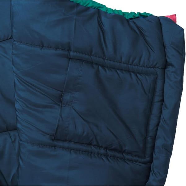 Grüezi Bag Biopod Wolle Kids World Traveller - Wollschlafsack claret red - Bild 18