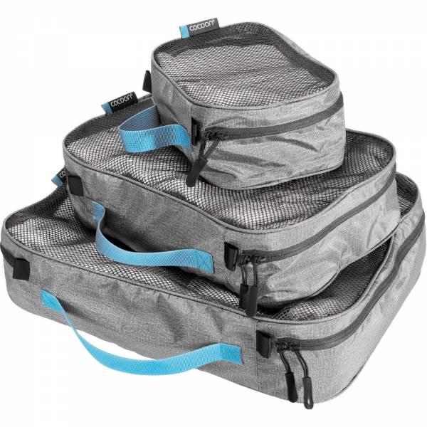 COCOON Packing Cube Light Set - Packtaschen heather grey - Bild 1
