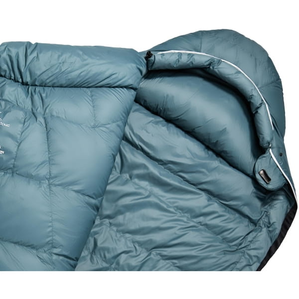 Grüezi Bag Biopod Down Hybrid Ice Cold - Daunen- & Wollschlafsack platin grey - Bild 6