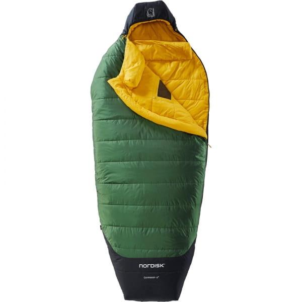 Nordisk Gormsson -2° Egg - 3-Jahreszeiten-Schlafsack artichoke green-mustard yellow-black - Bild 4