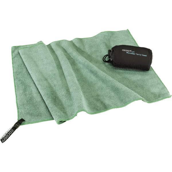 COCOON Terry Towel Light Gr. XL - Travel-Handtuch bamboo green - Bild 3