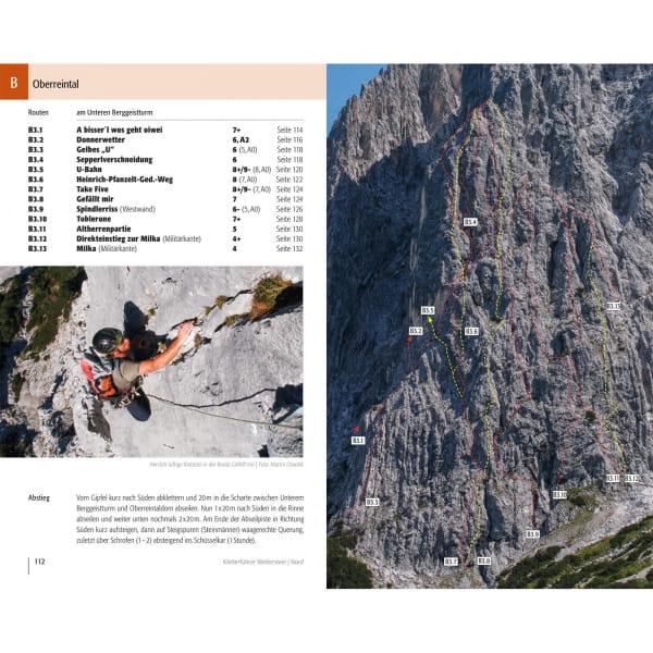 Panico Verlag Wetterstein Nord - Kletterführer Alpin - Bild 7