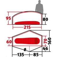 Vorschau: Wechsel Exogen 1 Zero-G - 1-Personen-Zelt green - Bild 3