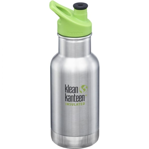 klean kanteen Kids Insulated Classic Sport Cap 12oz - 355 ml Thermoflasche brushed stainless - Bild 7