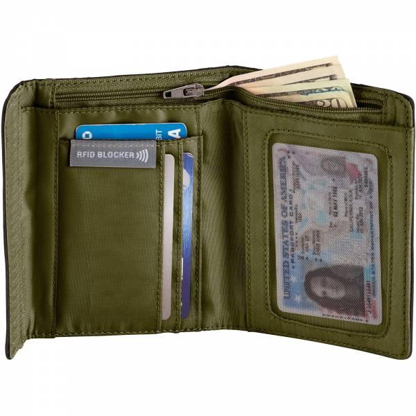 Eagle Creek RFID International Tri-Fold Wallet - Geldbörse jet black - Bild 6