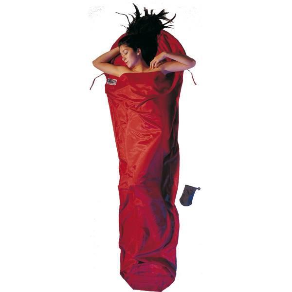 COCOON Silk Cotton MummyLiner - Innen-Schlafsack monks red - Bild 1