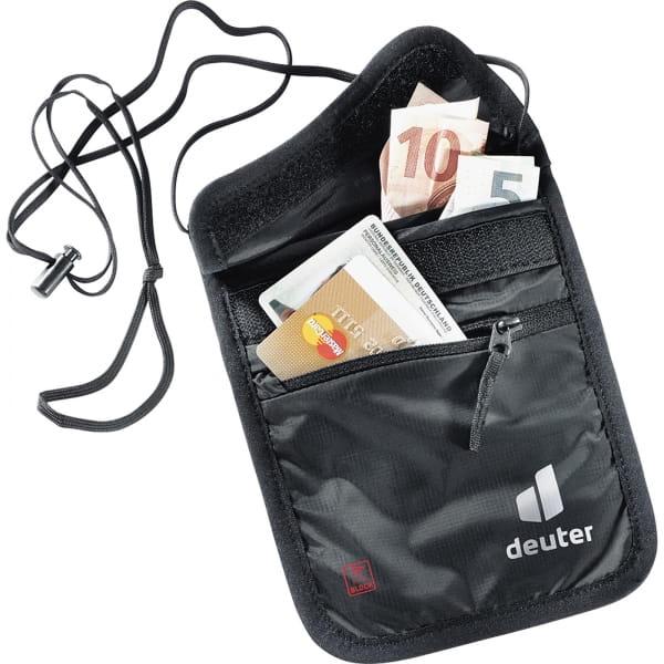 deuter Security Wallet II RFID Block - Brustbeutel black - Bild 2
