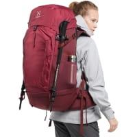 Vorschau: Haglöfs Ströva 65 - Trekkingrucksack brick red-light maroon red - Bild 10