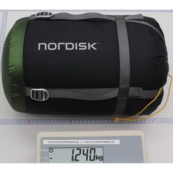 Nordisk Gormsson -2° Curve - 3-Jahreszeiten-Schlafsack artichoke green-mustard yellow-black - Bild 2