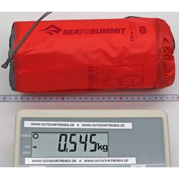 Sea to Summit Ultralight Insulated Mat Women's - Schlafmatte paprika - Bild 2