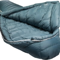Vorschau: Grüezi Bag Biopod Down Hybrid Ice Cold - Daunen- & Wollschlafsack platin grey - Bild 3