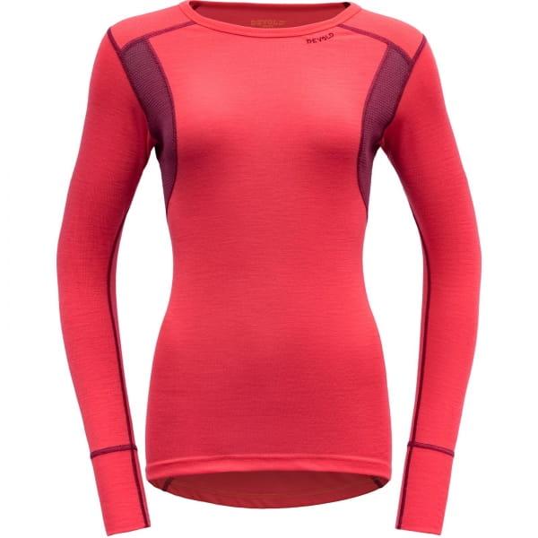 DEVOLD Hiking Woman Shirt - Funktionsshirt poppy-beetroot - Bild 3