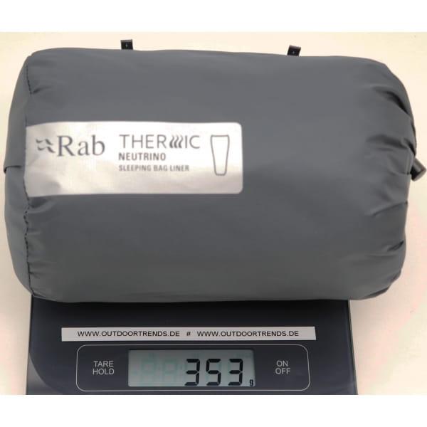 Rab Thermic Neutrino Sleeping Bag Liner - Innenschlafsack ebony - Bild 3