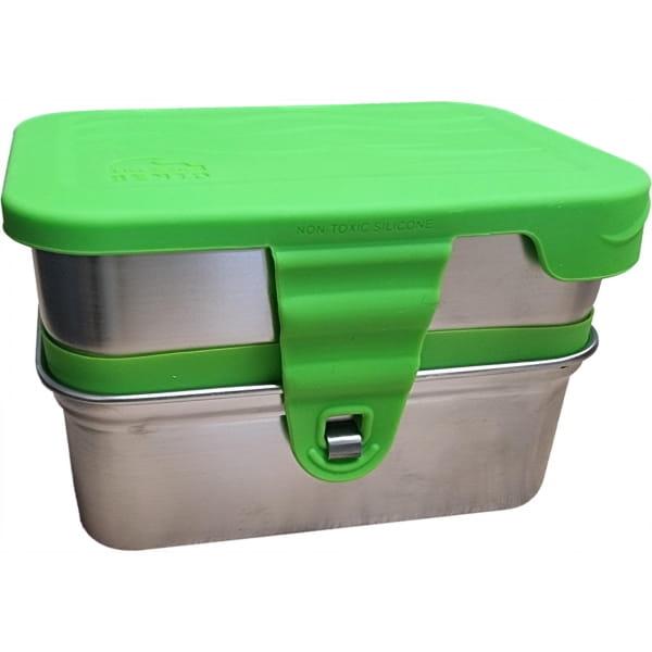 ECOlunchbox 3-in-1 Splash Box - Proviantdose green - Bild 1