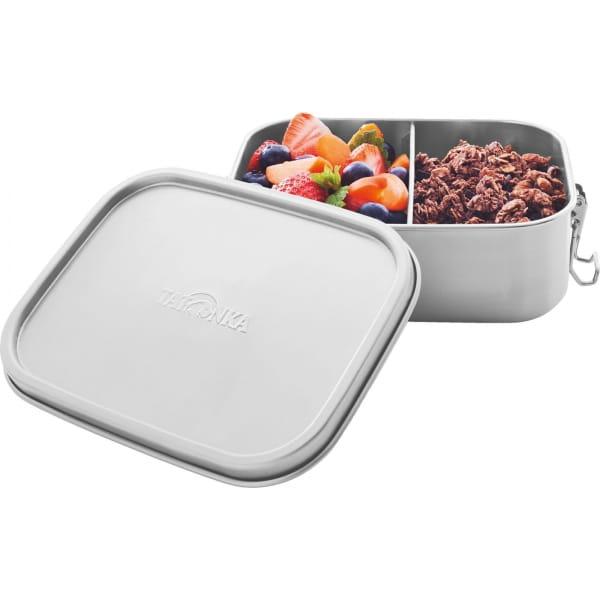 Tatonka Lunch Box II Lock 800 ml - Edelstahl-Proviantdose stainless - Bild 2