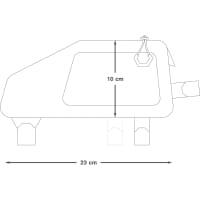 Vorschau: Apidura Backcountry Top Tube Pack 1,0 L - Oberrohrtasche - Bild 3