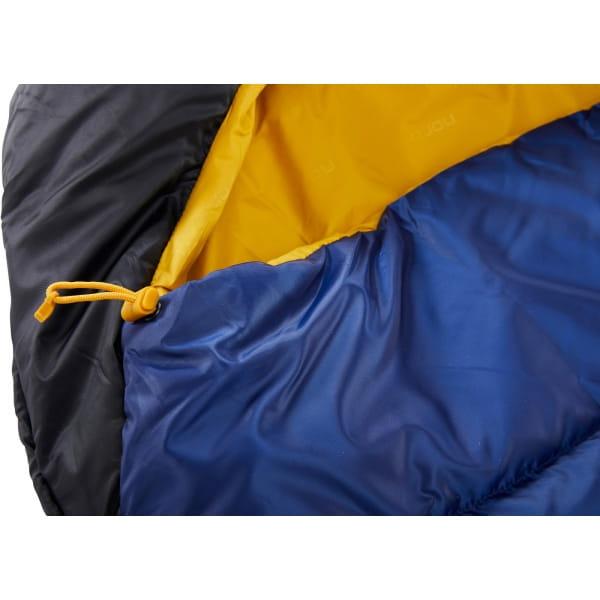 Nordisk Puk -10° Mummy - Winterschlafsack true navy-mustard yellow-black - Bild 10
