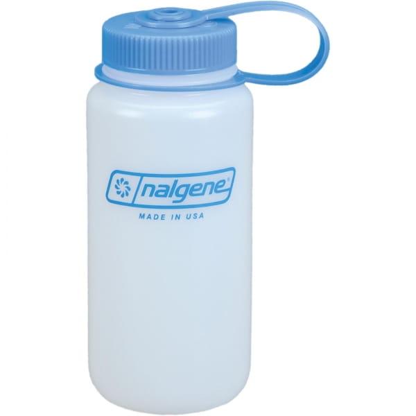 Nalgene Weithals HDPE Trinkflasche 0,5 Liter weiß - Bild 1