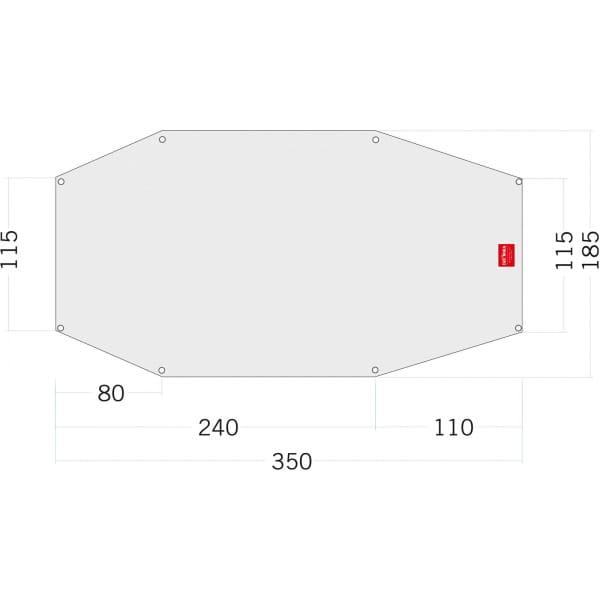 Tatonka Floor Sheet PE Arctis 3 - Zeltunterlage - Bild 1