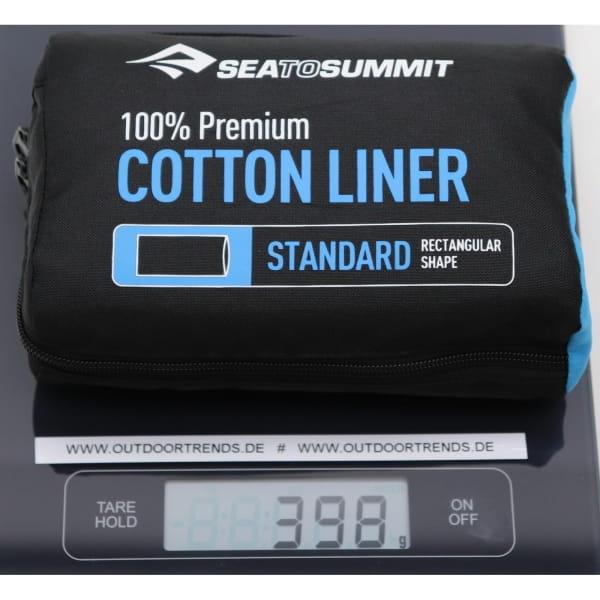 Sea to Summit Cotton Liner Rectangular Standard - Bild 12