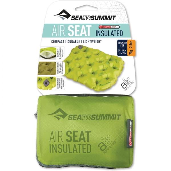 Sea to Summit Air Seat Insulated - Sitzkissen green - Bild 2