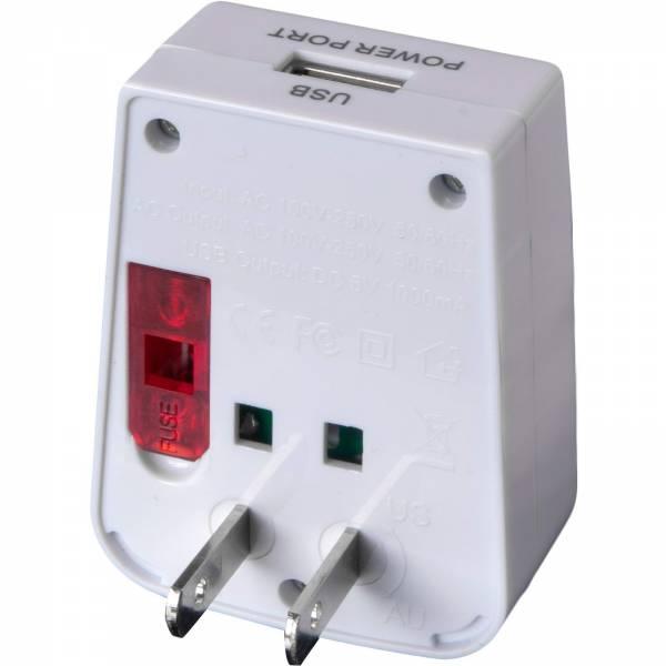 Basic Nature Universal USB Steckeradapter - Bild 5