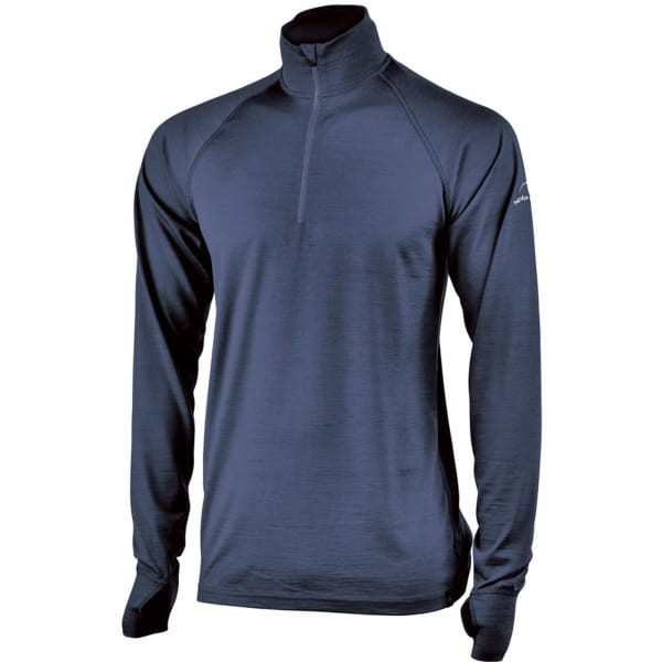 IVANHOE UW Felix Man - Langarmshirt mit Zip steelblue - Bild 2