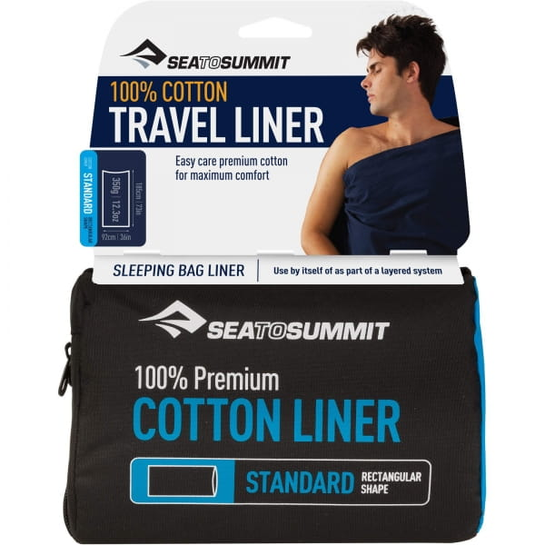 Sea to Summit Cotton Liner Rectangular Standard - Bild 1