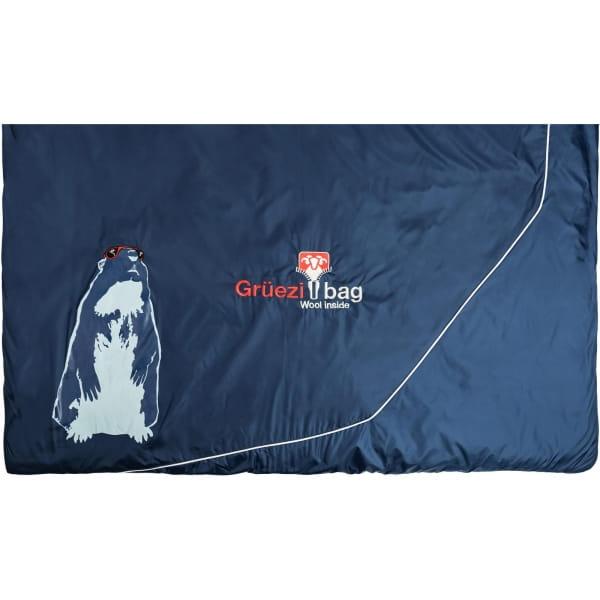 Grüezi Bag Biopod Wolle Murmeltier Comfort XXL - Deckenschlafsack night blue - Bild 13
