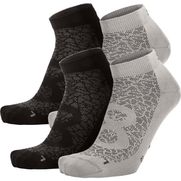 EIGHTSOX Color 1 - Sport-Socken light grey-black - Bild 3