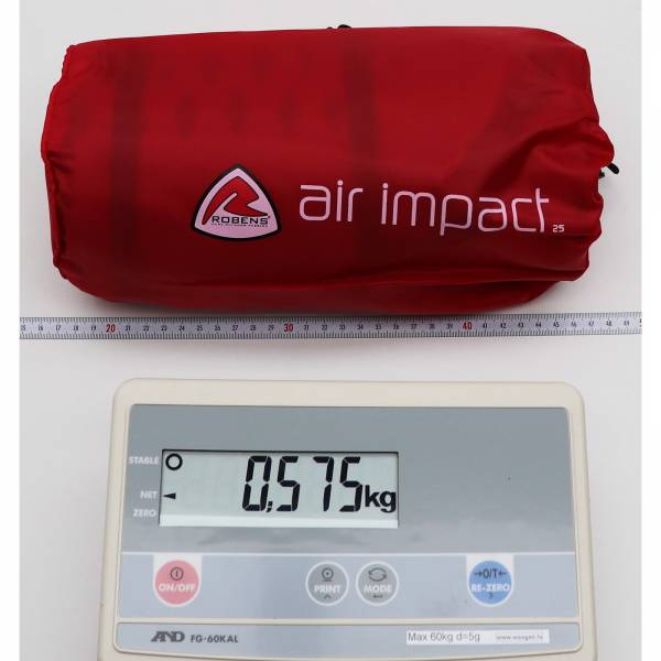 Robens Air Impact 2.5 - selbstaufblasende Matte - Bild 4