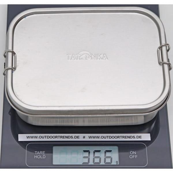 Tatonka Lunch Box II Lock 1000 ml - Edelstahl-Proviantdose stainless - Bild 3