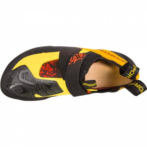 La Sportiva Skwama - Kletterschuhe black-yellow - Bild 3