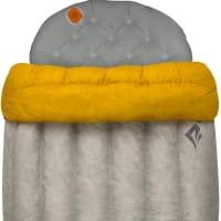 Vorschau: Sea to Summit Ember EbII Regular - Daunen-Decke light grey-yellow - Bild 5