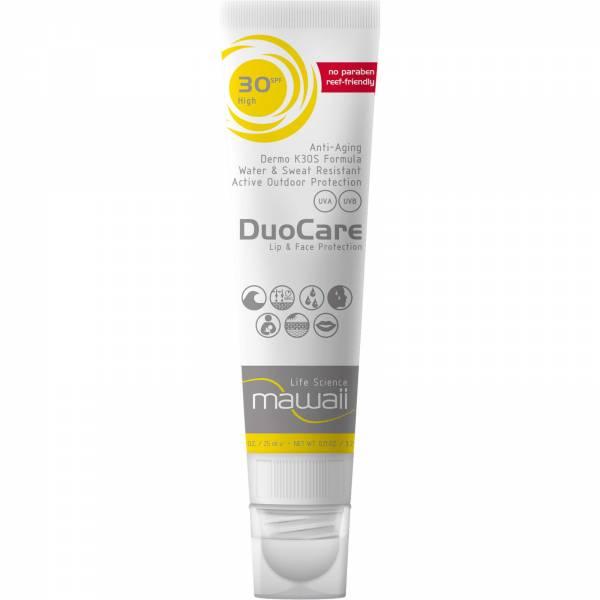 mawaii DuoCare Face & Lips SPF 30 - Sonnenschutz - Bild 1