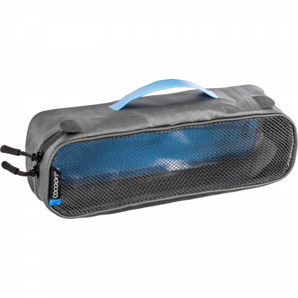 COCOON Packing Cube with Open Net Top S - Packtasche grey-blue - Bild 3