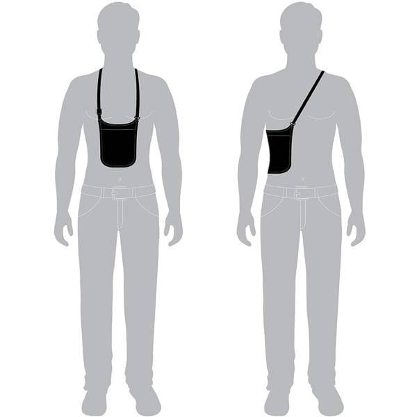 pacsafe CoverSafe V75 - RFID-Brustbeutel - Bild 5